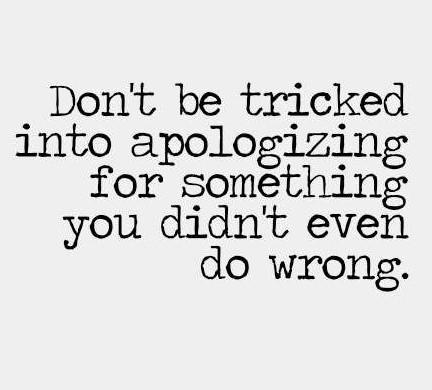 No Apology - 6